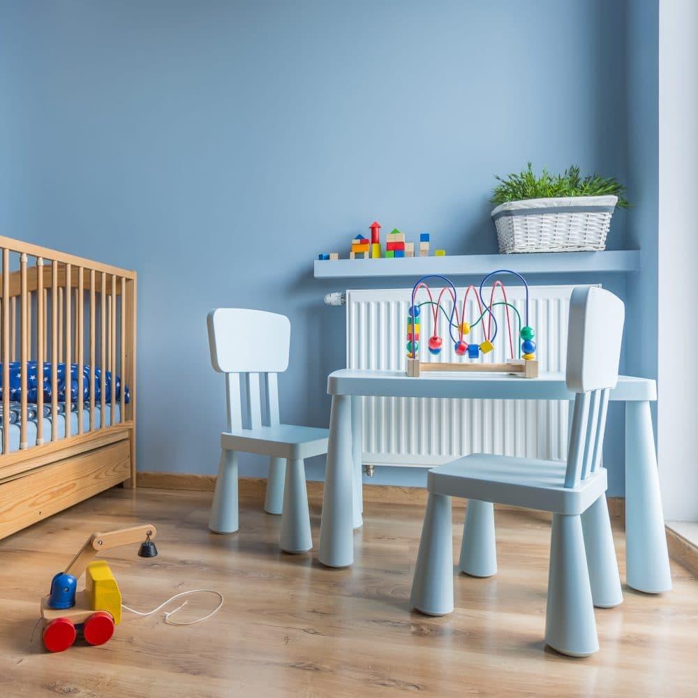 חידוש רהיטי הילדים בצבעים מותאמים