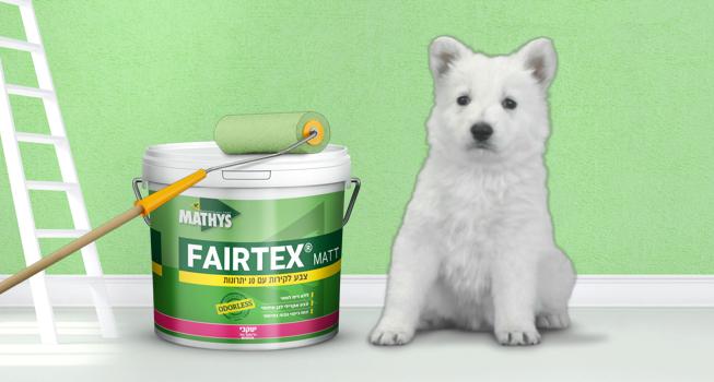 פרטקס – צבע לקירות ללא ריח לוואי
