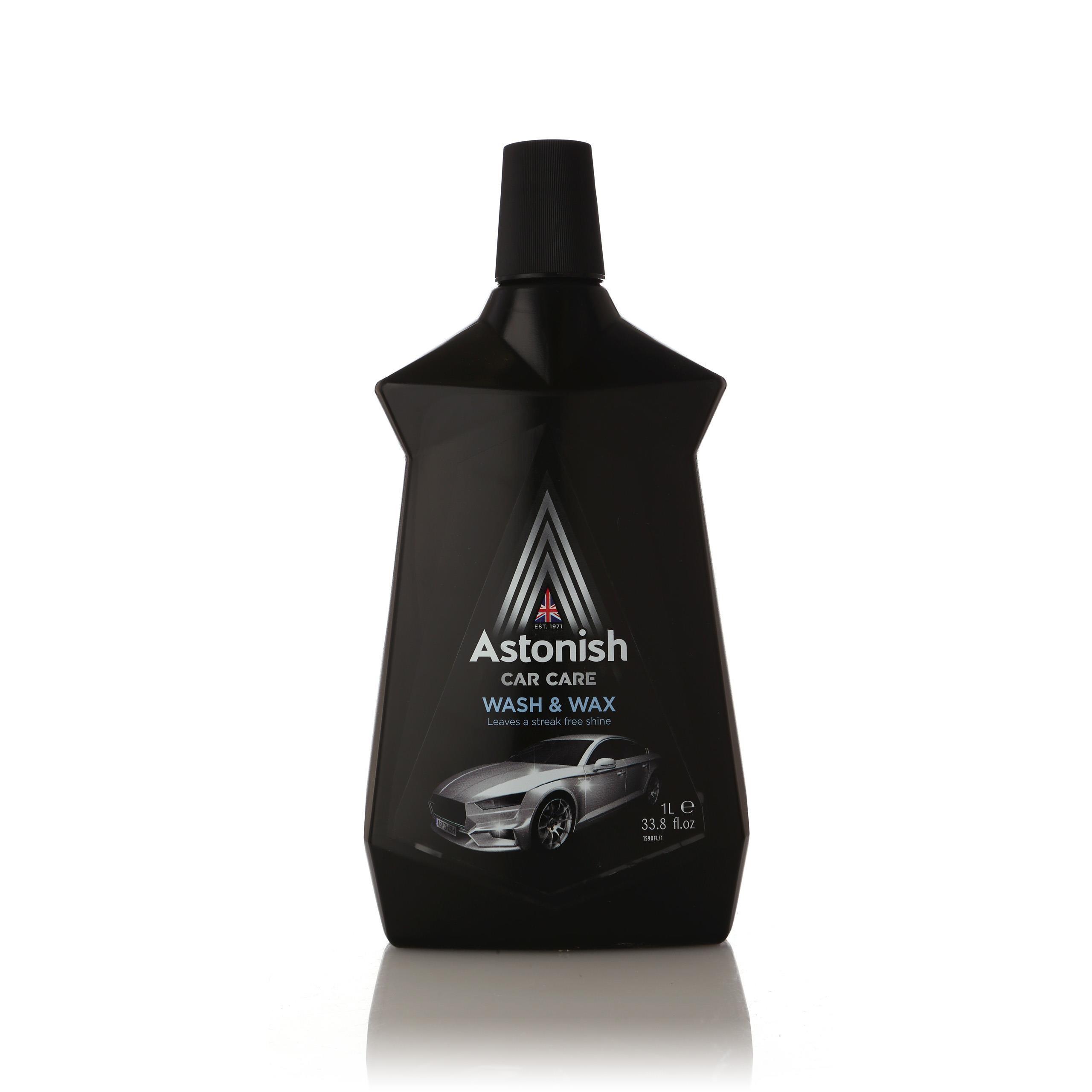 אסטוניש – שטיפה עם ווקס לרכב